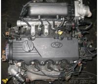 Контрактный (б/у) двигатель G4EB Hyundai 1,5 SOHC Accent, 2000-06 г
