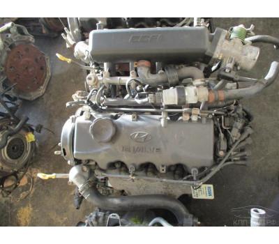 Контрактный (б/у) двигатель G4EH Hyundai 1,3 Accent,Pony 1994-00