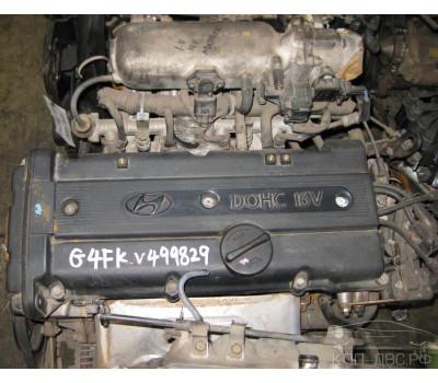 Контрактный (б/у) двигатель G4FK Hyundai 1,5 Accent,Pony 1996-02