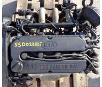Контрактный (б/у) двигатель S5D 1,5л Kia Rio, Spectra, Shuma 2000-2006