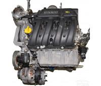 Контрактный (б/у) двигатель K4J 710/711 Renault Megane/Scenic 98 л.с.