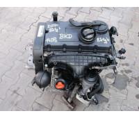 Контрактный (б/у) двигатель BKD атмосферный Volkswagen Bora Golf Jetta Touran Vento Audi A3 2.0, дизель, 140 л.с, 2003-2010
